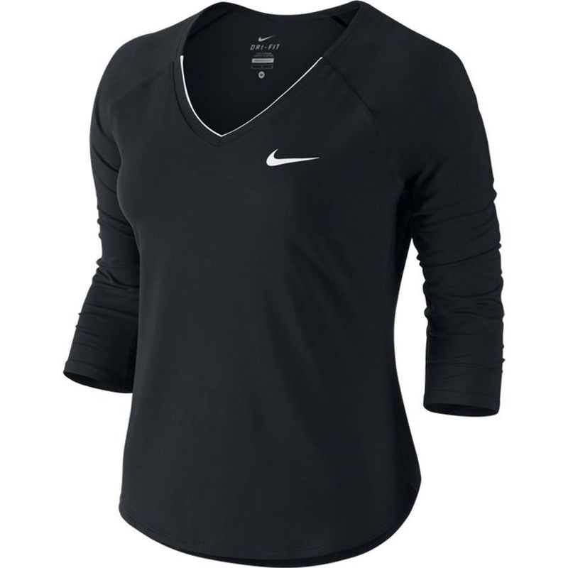 nike-court-pure-tennis-top-dreiviertel-arm-shirt-damen-0